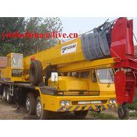 55 tons TADANO truck crane (yellow color) thumbnail image