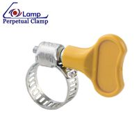 American Type Wing Nut Hose Clamp with thrumb screw