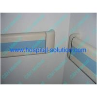 pvc and aluminum alloy material handrail for hospital