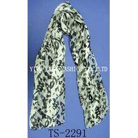 fashion printting flower scarf
