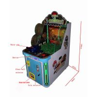 New coin operated water gun shooting game machine for kids -Gun shooting Master of Pharaoh