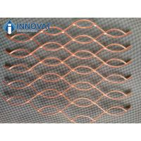 Flattened Aluminium Expanded Metal Grill Wire Mesh