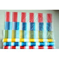 HDPE colorful disposable tablecloth on rolls, table cover