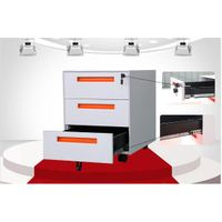 Office furniture stores mobile pedestal / mobile file cabinet / storage drawers on wheels thumbnail image