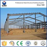 Light Steel Building Fabrication Workshop Layout