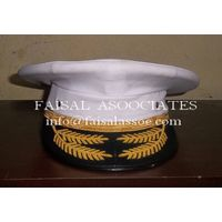Navy peak cap