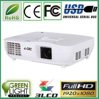 Best selling 1080p 3 led 3 lcd FULL HD 1920*1080 video game home theater business education mini pro