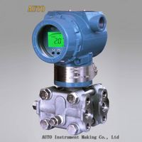 DP pressure transmitter / pressure transmitter with LCD display