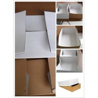 Solid cardboard box used for Meat