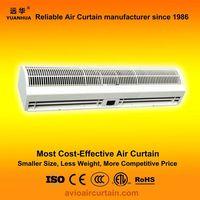 New designed cross-flow type air curtains (air doors) FM-1.25-15N
