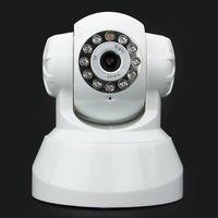 CCTV Security 3G HSDPA Video Pan-tilt Dome Camera Alarm System With SIM Card Slot thumbnail image