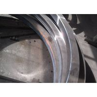 ASME BS EN A105 Forged Steel Rings For Wind Power / High Hardness Carbon Steel