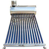 Low Pressure Vacuum Tube Solar Hot Water Tank Water Heating System Solar Water Heater