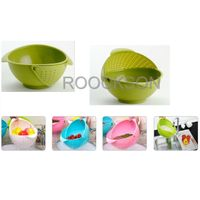 Vegetable Washer  Basket Wash Dish Drop