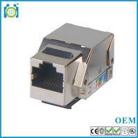 Cat6/ CAT5E FTP 110 IDC Keystone jack