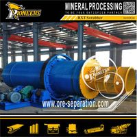 Rotary Scrubber for Clay Gold Ore, Clay Gold Mine Machine thumbnail image