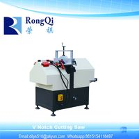 Plastic UPVC PVC Window Machine Vinyl V Notch Cutting Saw