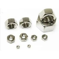 DIN 934 Carbon Steel Hexagon Nuts/304 Stainless Steel Hex Nuts thumbnail image