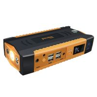 Portable Jumper Start LCD display with four USB output