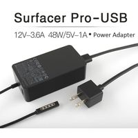 Loney 48W 12V/3.6A Charger AC Adapter Power Supply for Surface RT/Pro1/Pro2 Tablet Laptop 1536