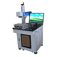 Portable Wood Chuangxin Fiber Laser Marking Machine 300*300mm