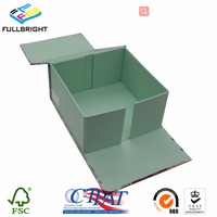 Customized cardboard book shape gift folding magnetic flap box wholesale thumbnail image
