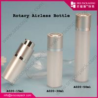 Acrylic Airless Rotary Pump Serum Bottle