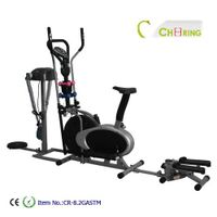 Elliptical trainer with massager thumbnail image