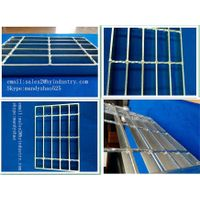 hot dip galvanized plain serrated steel grating