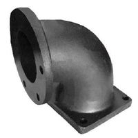 Turbo charger elbow trailer parts