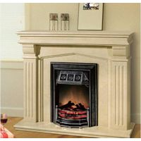 Marble Stone Carving Fire Place Mantel