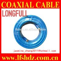 transparent coaxial cable rg6 with f connectors