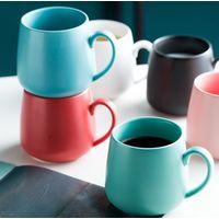 Sublimation custom logo print simple white coffee cups ceramic mug white to sublimate thumbnail image