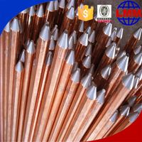 copper bond type copper coated non magnetic earthrodes made in China