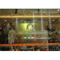 self adhesive rear projection screen film(for advertising holographic display) thumbnail image