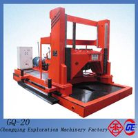 2014 China Innovative Red Top-head 2000mm Hole Dia GQ-20 Big Pile Hole Underground Drill Rigs For Sa