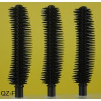 Silicone Plastic Nylon Fiber Fales Fake Eyelash Eyebrow Eyeliner Mascara Brushes Tube Box QZ-F