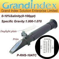 Salinity refractometer P-RHS-10ATC For Marine Keeping