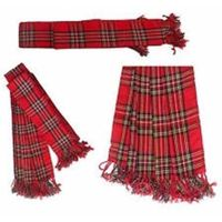 ROYAL STEWART TARTAN PIPER PLAID