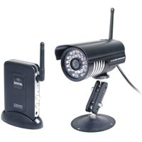 2.4Ghz Connect DVR To Record Waterproof IR Digital Wireless Security Camera System thumbnail image