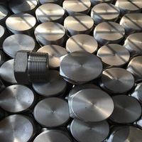 Forged thread NPT hex plug a105 male pipe plug