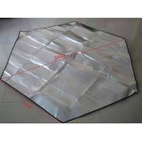 Aluminum foil Portable outdoor garden travel beach hiking camping waterproof picnic sitting blanket  thumbnail image