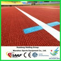 Olympic Games Supplier Sports Floor Mat Rubber Floor Mats