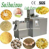 Jinan Saibainuo Small Tvp Protein Snacks Pet Food Laboratory Test Lab Twin Screw Extruder Machine