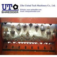 Single Shaft Shredder S40150for tyre, plastic, wood, metal, cable, paper crusher recycling thumbnail image