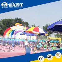giant inflatable water park, above ground pool water slide