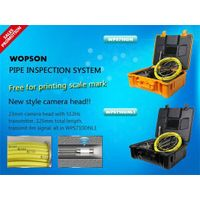 Pipe chimney sewer inspection camera with free meter counter