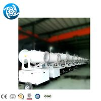30m carbon steel truck mounted farm water cooling fully configuration 0~360° summer dust cannon thumbnail image