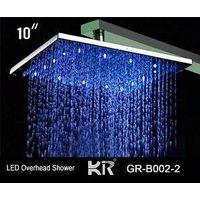 colorful led overhead shower, head shower