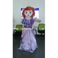 OHLEES Professional custom mascot costume Sophia mascot adult size
